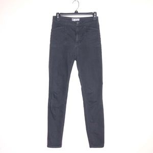 Free People High Rise Moto Skinny jeans